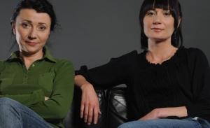 Sylwia Jurkiewicz i Justyna Lach, fot. Andrzej Grabowski