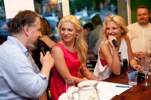Marcin Kubiak, Katarzyna Bonda, Joanna Jodełka i Ryszard Ćwirlej, fot. Magdalena Adamczewska