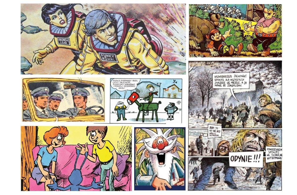 Kultowe komiksy PRL-u w serialu dokumentalnym | Od 11 lipca w CANAL+ DISCOVERY